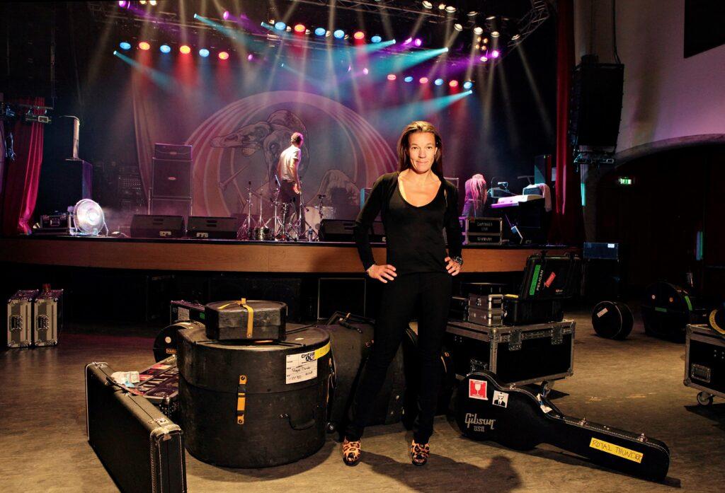 Annelie Telford är vd och medgrundare till Debaser. Foto: Eva Edsjö